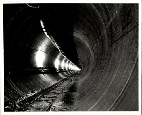 Tunneling Machine Bore Hole Mining Promotional Real Photo 8x10 BK