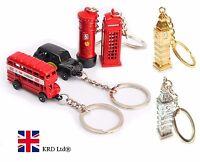 Británico Miniatura Londres Recuerdo Llavero Metal Regalo Berlock Metálico -  - ebay.es