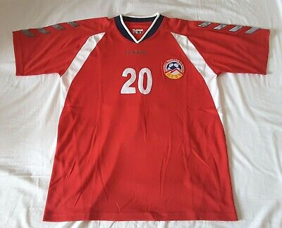 Armenia football shirt 2007-08 Hummel home rare vintage soccer jersey top L image
