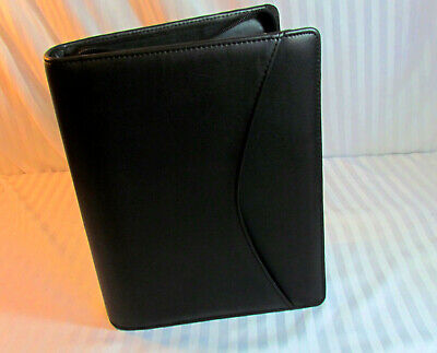 New Day Runner Business Pro Zip Planner W Pages Extras Cell Pocket 1.5 Ring