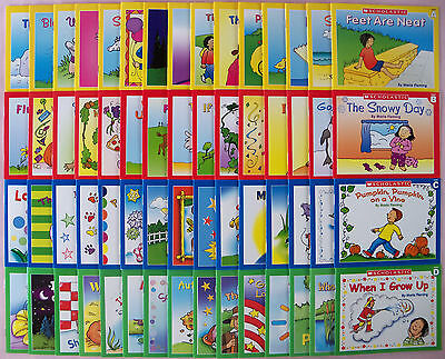 NEW SET 60 PRESCHOOL BEGINNING READERS FOR TEACHING READING BY SCHOLASTIC on Rummage