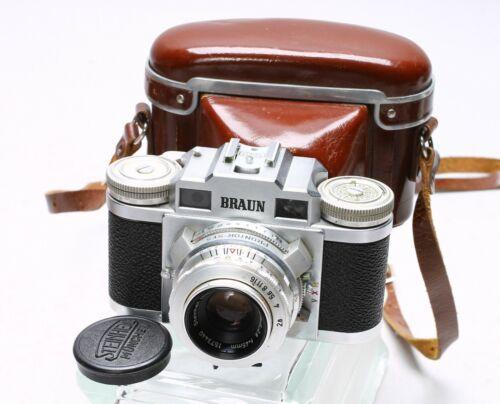 BRAUN PAXETTE SUPER II + CASSARIT 45MM F/2.8