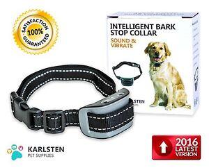 Electronic / Vibrating Anti-Bark Dog Training Collar for Medium/Large Dog
