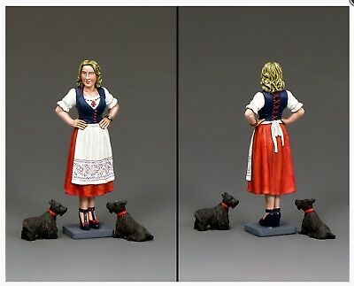 LAH225 WW2 German Eva Braun & Dogs Leibstandarte LAH 225