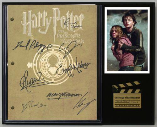 "Harry Potter The Prisoner Of Azkaban Reproduction Signature Script Display ""C3"""