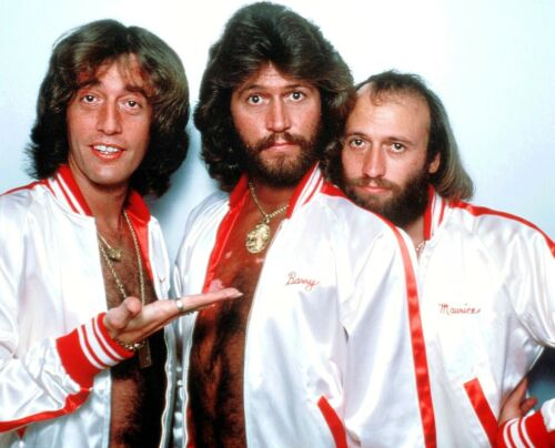 THE BEE GEES - MUSIC PHOTO #E-106