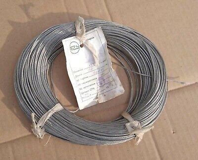 Mgtf-e Shieldheat-resistant Wire 1 X0.12 Mm Ptfe 26 Awgshieldteflon Ussr