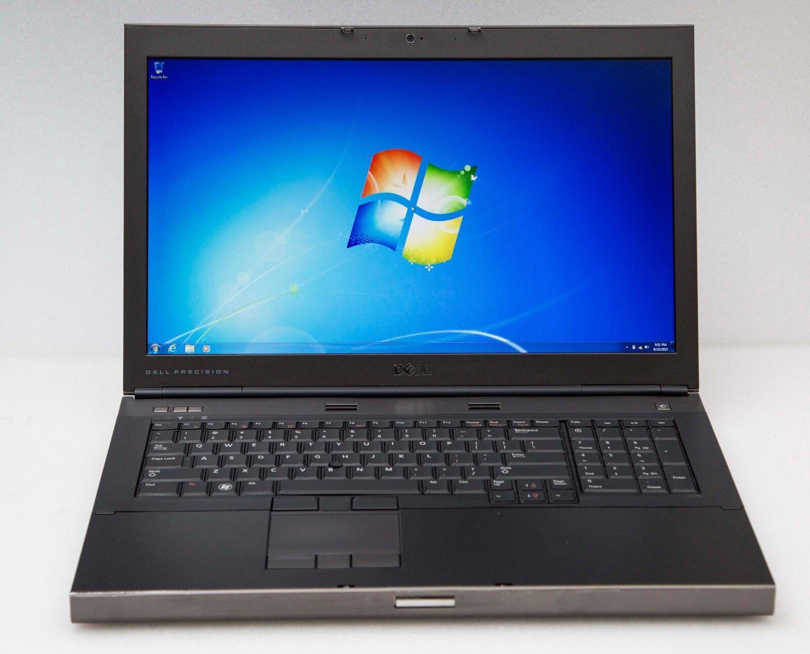 "Dell Precision M6600 17"" i7 2720QM 2.2GHz 32GB 256GB SSD NVd 3000m Gaming Laptop"