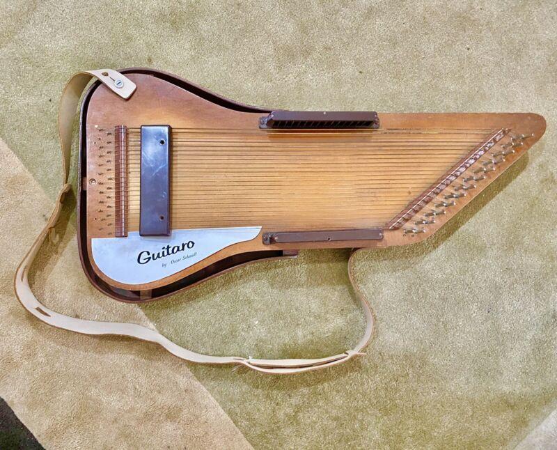 Oscar Schmidt Guitaro With Case *please Read*
