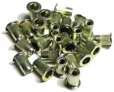 Rivet Nuts 10-32 Steel 25pc Buy 3 Or More 10 Rebate Rivnut Riv Nut Nutsert