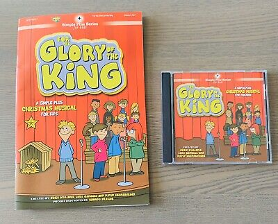 FOR THE GLORY OF THE KING KIDS CHRISTMAS MUSICAL Book & CD Brentwood Benson ()