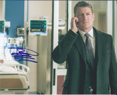 Philip Winchester Signed Autographed 8x10 Photo Chicago Justice PD Strike Back E