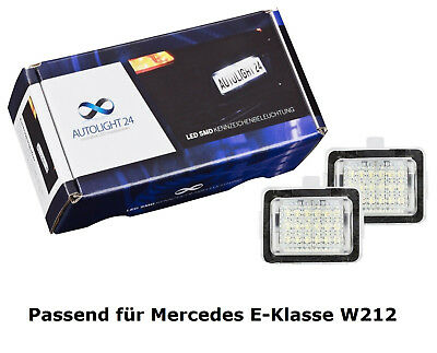 Premium LED Kennzeichenbeleuchtung Mercedes W212 S212 E-Klasse KB28