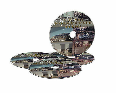 1939 NEW YORK WORLDS FAIR EXPO. RARE FILMS, 7 HOURS OF FOOTAGE ON 4 DVDS -J18