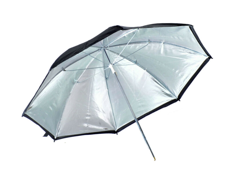 Kood+36%22+%2F+90cm+Silver+Reflective+Studio+Umbrella