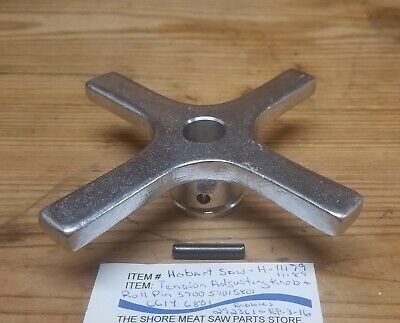 Hobart 5700 5701 5801 6614 6801 Tension Adjustment Handle With Pin Ref. 292361