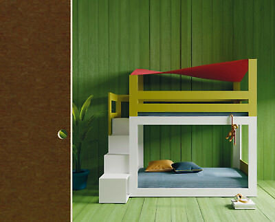 Premium Etagenbett Stockbett in 20 Farben / Regaltreppe / Hochbett / Doppelbett (Etagenbett Schlafzimmer-sets)