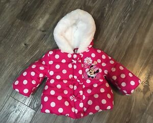 Minnie Mouse winter jacket