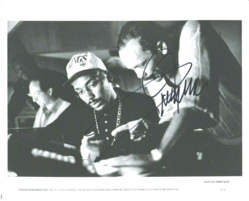 Quincy Jones signed 10x8 b&w promo photo
