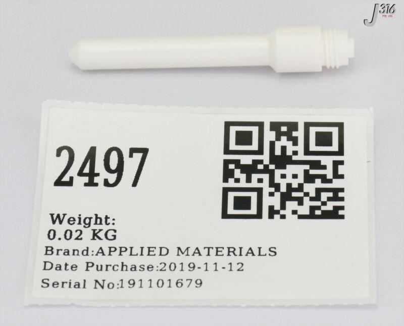 2497 Applied Materials Nozzle, All Ceramic 2.55l, 1.5% Hdpcvd 0200-18093