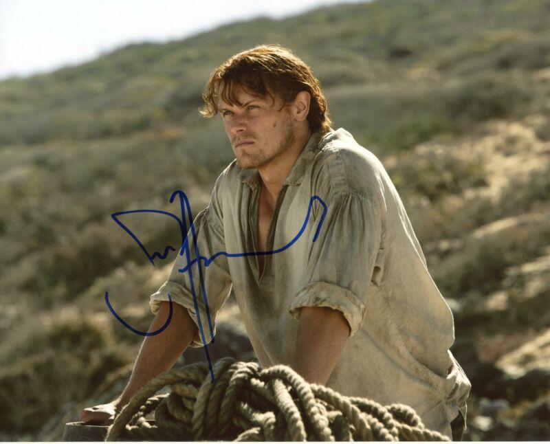 "Sam Heughan ""Outlander"" AUTOGRAPH Signed 8x10 Photo B ACOA"