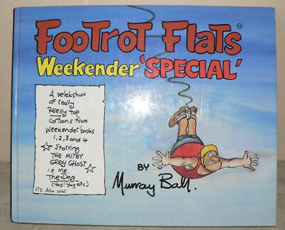 Footrot Flats Weekender SPECIAL hardcover book (1, 2, 3, and 4)