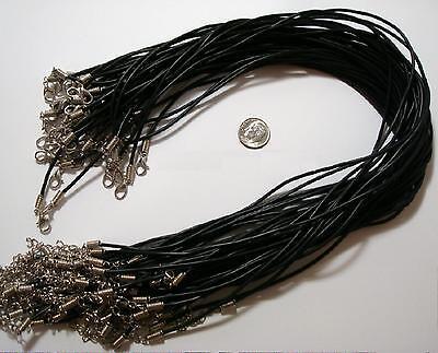 Шнуровки для кожи 100 Necklace cords