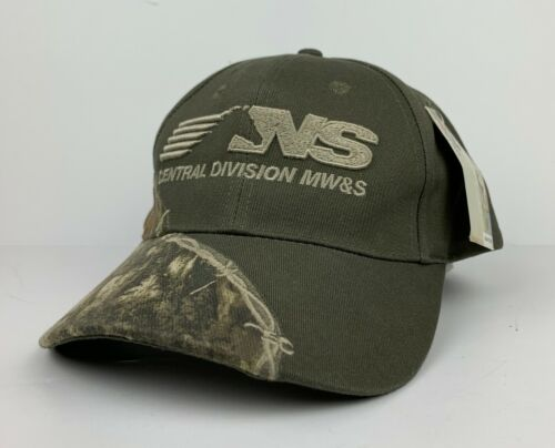 NS Norfolk Southern Railway Camouflage Mossy Oak Cap Central Division NWT