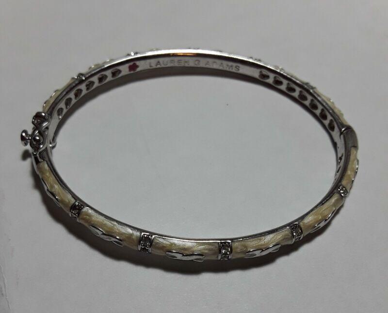 Lauren G Adams Designer Enameled Fancy Bracelet