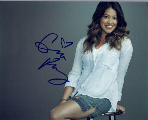 Gina Rodriguez Signed Autographed 8x10 Photo Jane The Virgin  COA AB