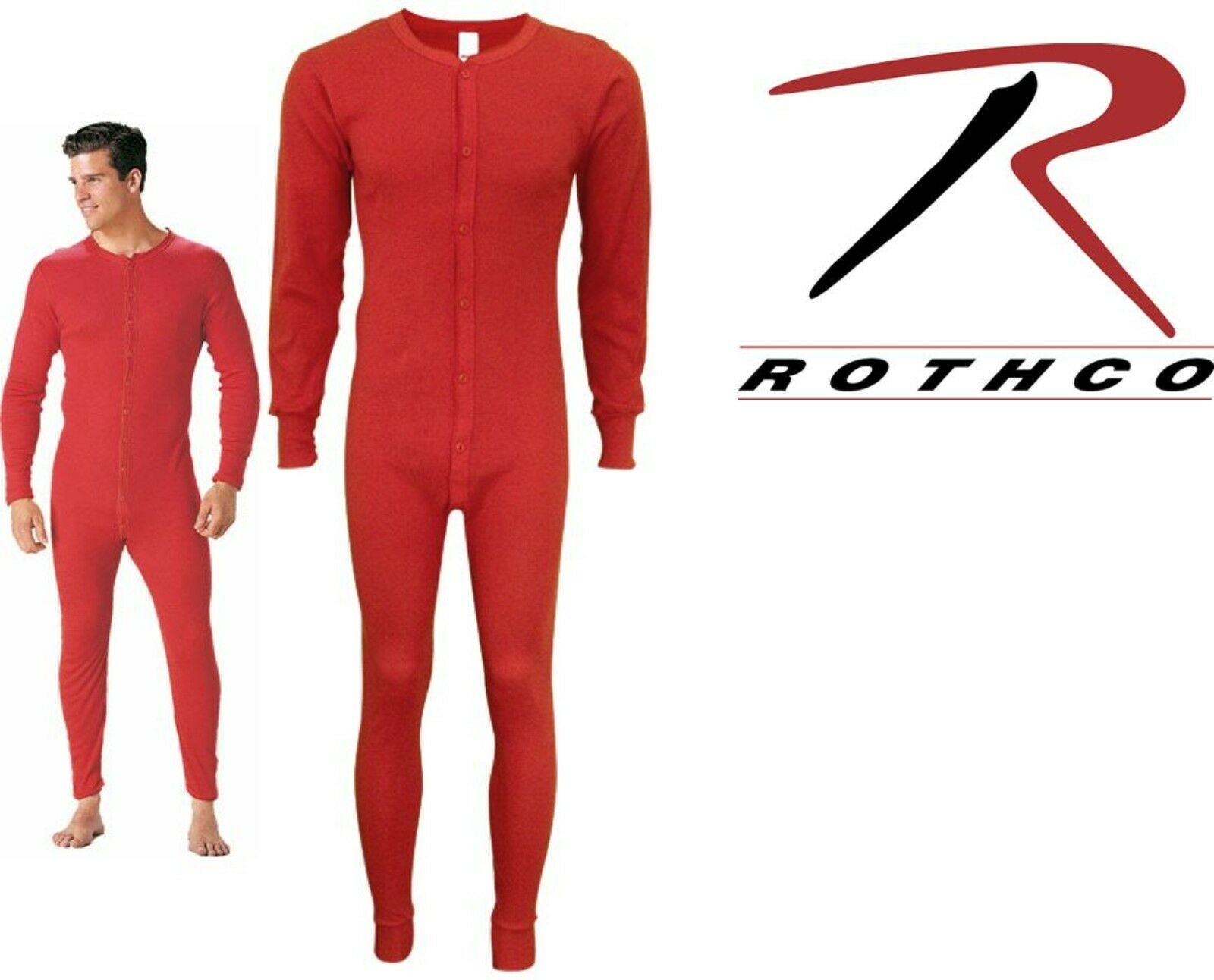 2 XL Rothco 6453 Original Style One Piece Union Suits Small