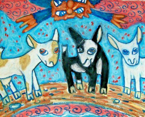 Nigerian Dwarf Dairy Goat - 5x7 Art Print - Wall Décor - Billy Goats Gruff
