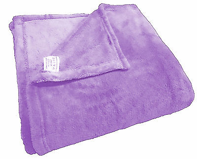 SUPER SOFT Coral Fleece/ Micro Plush Fleece Blanket Air Conditioning  FULL SIZE ()