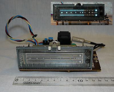 VFD bargraph VU meter Vacuum luminescent indicator DISPLAY -20 dB ...0... +6 db