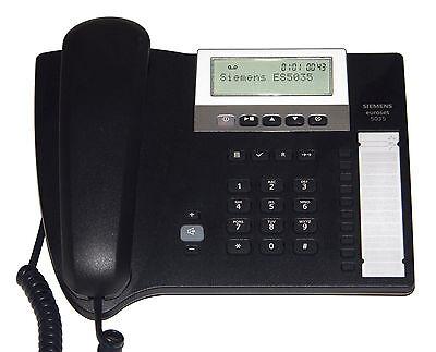 Siemens Gigaset euroset 5035 schnurgebundes analog Telefon mit Anrufbeantworter
