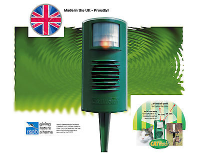 CatWatch Ultrasonic and Electronic Garden Pest and Cat Deterrent