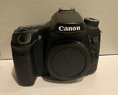 Canon EOS 70D DSLR Camera Black - Body Only