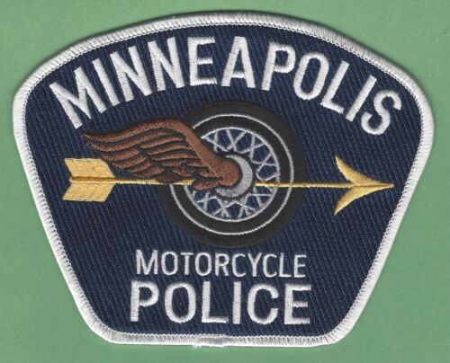 MINNEAPOLIS MINNESOTA POLICE MOTORCYCLE UNIT SHOULDER PATCH