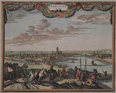 Frankfurt - Francfurt am Main - Visscher / Schut / Schenk / Berchem - 1700 - Rar