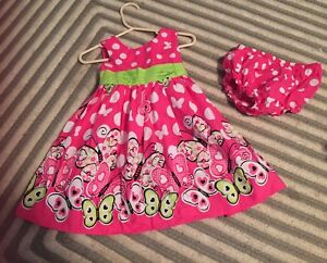18M dress with matching bloomers