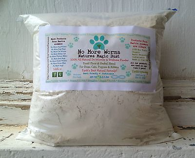 - 2 LB BULK Dog wormer Cat and Kitten wormer NATURAL Parasite Control dewormer
