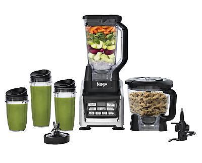 Nutri Ninja BL682 1500W Professional Food Processor Blender System w/ Auto-iQ