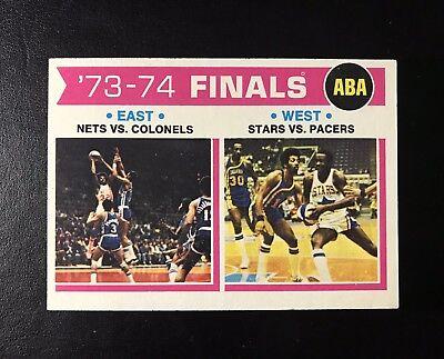1975 NBA/ABA FINALS East Vs West Topps #248 for sale  Boynton Beach