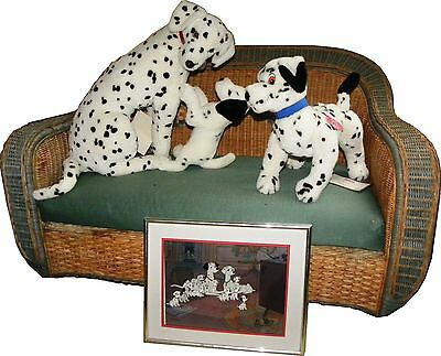 Disney Limited Editions Perdita and Pups, Dipstick and Hand Painted Cel package