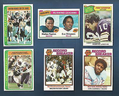 1978 Topps Bills O J  Simpson  Highlights  Card  4