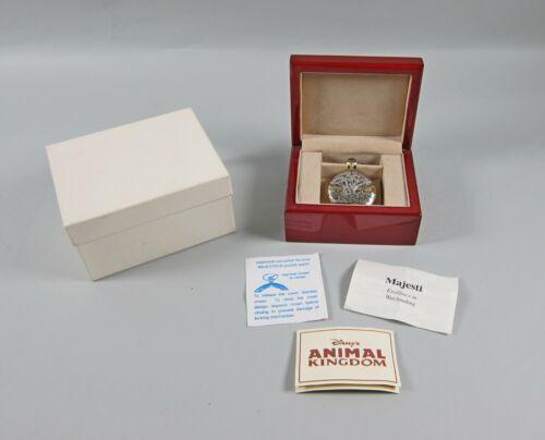 Rare MAJESTIC Co. Disney Animal Kingdom Limited Edition 1411/1998 Pocket Watch