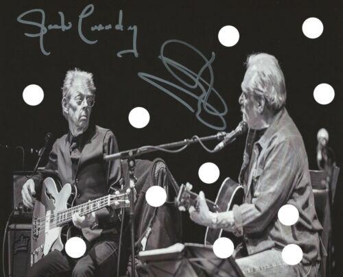 HOT TUNA SIGNED Jack Casady Jack Casady LIVE B&W GUITAR PHOTO PREPRINT