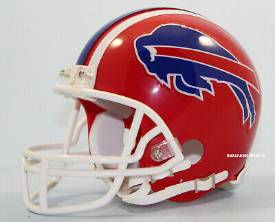 BUFFALO BILLS (1987-01 Throwback) Riddell VSR4 Mini Helmet