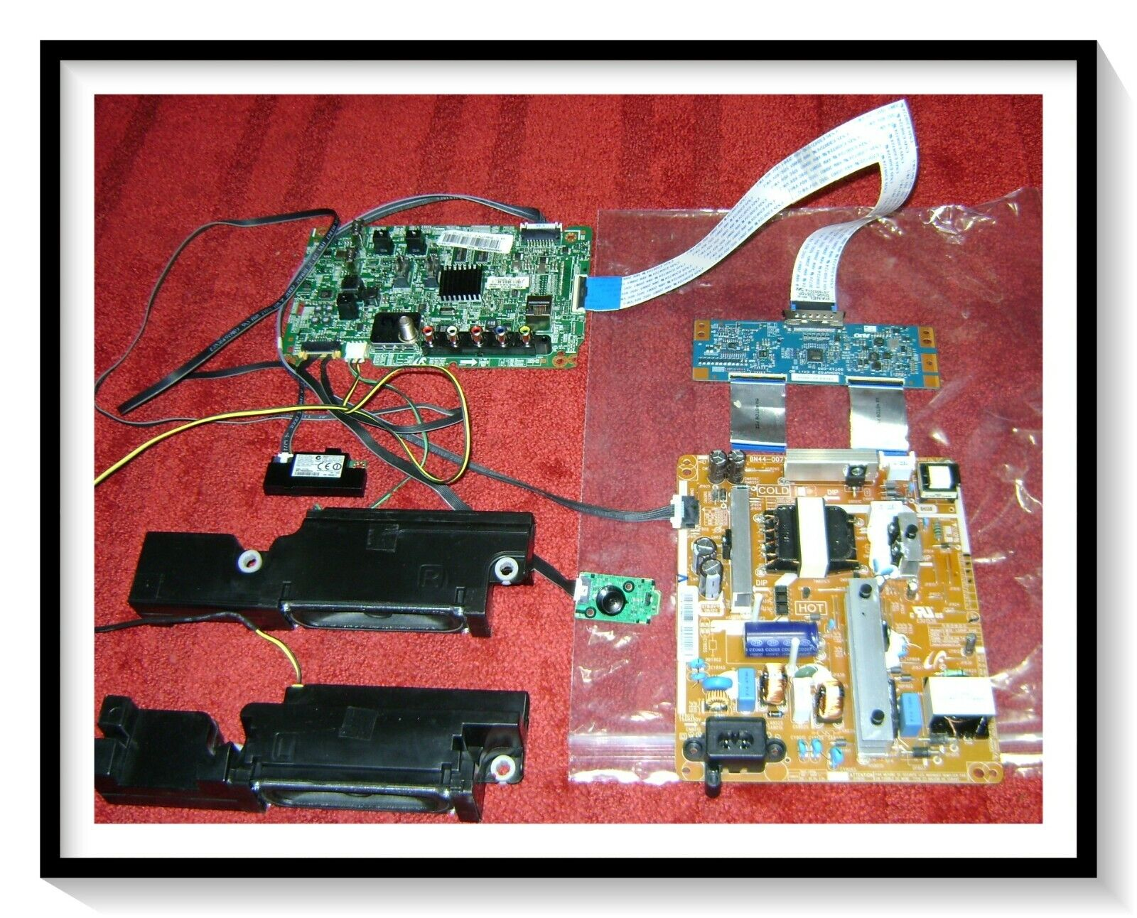 SAMSUNG BOARDS FOR UN50H6203 POWER-TCON-MAIN MORE ALL 100 FUNCTIONAL 69NR WOW - $69.00