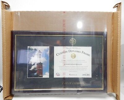 Purdue University Diploma Frame Campus Bell Tower Bachelors Degree Museum Qualit